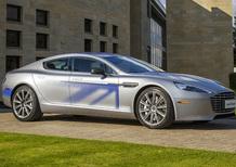 Aston Martin RapidE Concept: elettrica di classe