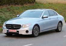 Nuova Mercedes Classe E: eccola praticamente senza veli