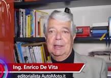 De Vita: «Auto elettrica? Per ora meglio il diesel» [Video]