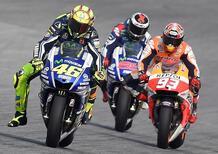 Orari TV MotoGP Valencia 2015: come seguire lo scontro finale tra Rossi, Marquez e Lorenzo