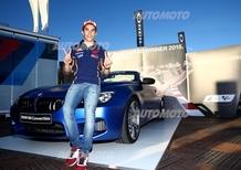 Marc Marquez: dopo le polemiche con Rossi BMW gli regala una M6 Cabrio