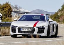 Nuova Audi R8 V10 RWS: trazione posteriore in serie limitata per puristi [video]