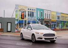 Ford, la guida autonoma debutta a M City