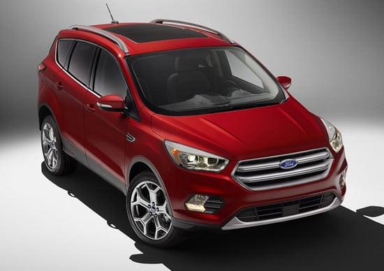 Ford Escape restyling: da noi arriverà come Kuga