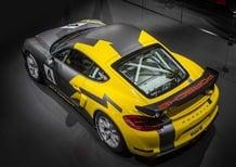 Porsche Cayman GT4 Clubsport: per palati fini e...corsaioli