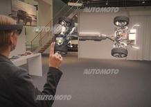 Volvo e Microsoft HoloLens, la realtà virtuale entra nel concessionario [Video]