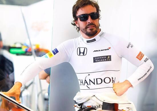 Fernando Alonso: «Nel 2017 ho pensato di lasciare la F1»