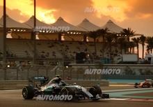 F1, Gp Abu Dhabi 2015: pole per Rosberg. Raikkonen terzo