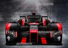 WEC, Audi presenta la R18 e-tron quattro per il 2016