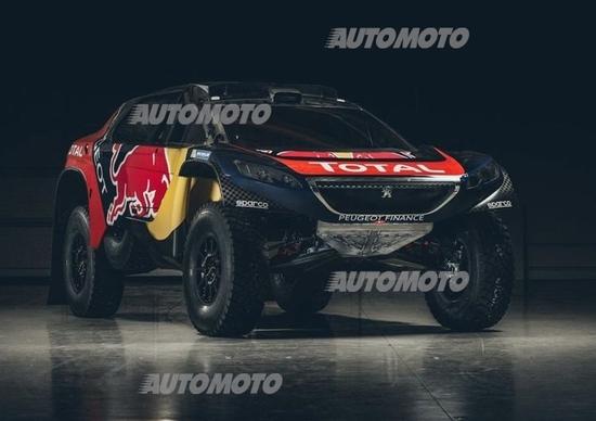 Peugeot 2008 DKR16: ecco la livrea per la Dakar 2016