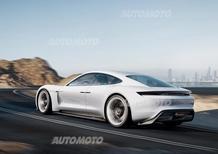 Porsche Mission E, per l'elettrica investimento da 1 miliardo di euro