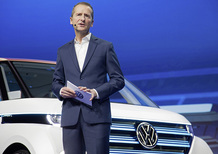 Emissioni, Diess, Volkswagen: «Il diesel non va messo al bando»