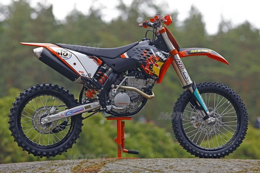 prova ktm gamma off-road 2009 - prove - moto.it