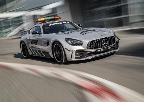 Formula 1: la Mercedes AMG GT R è la safety car 2018