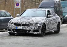 BMW serie 3, le foto spia della nuova generazione