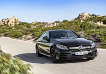 Mercedes-AMG C 43 4Matic, il restyling delle 2 porte a New York