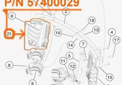 H-D WINDSHIELD VENT,ASSM,SUPPORT,RIGHT - 57400029 Harley-Davidson