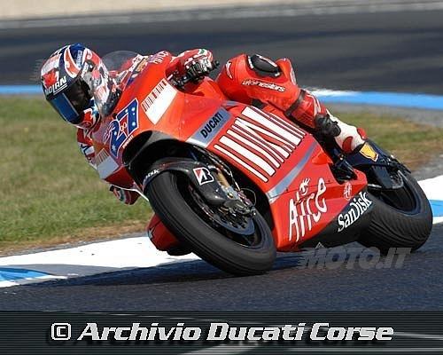 Casey Stoner alla nona vittoria in Moto Gp