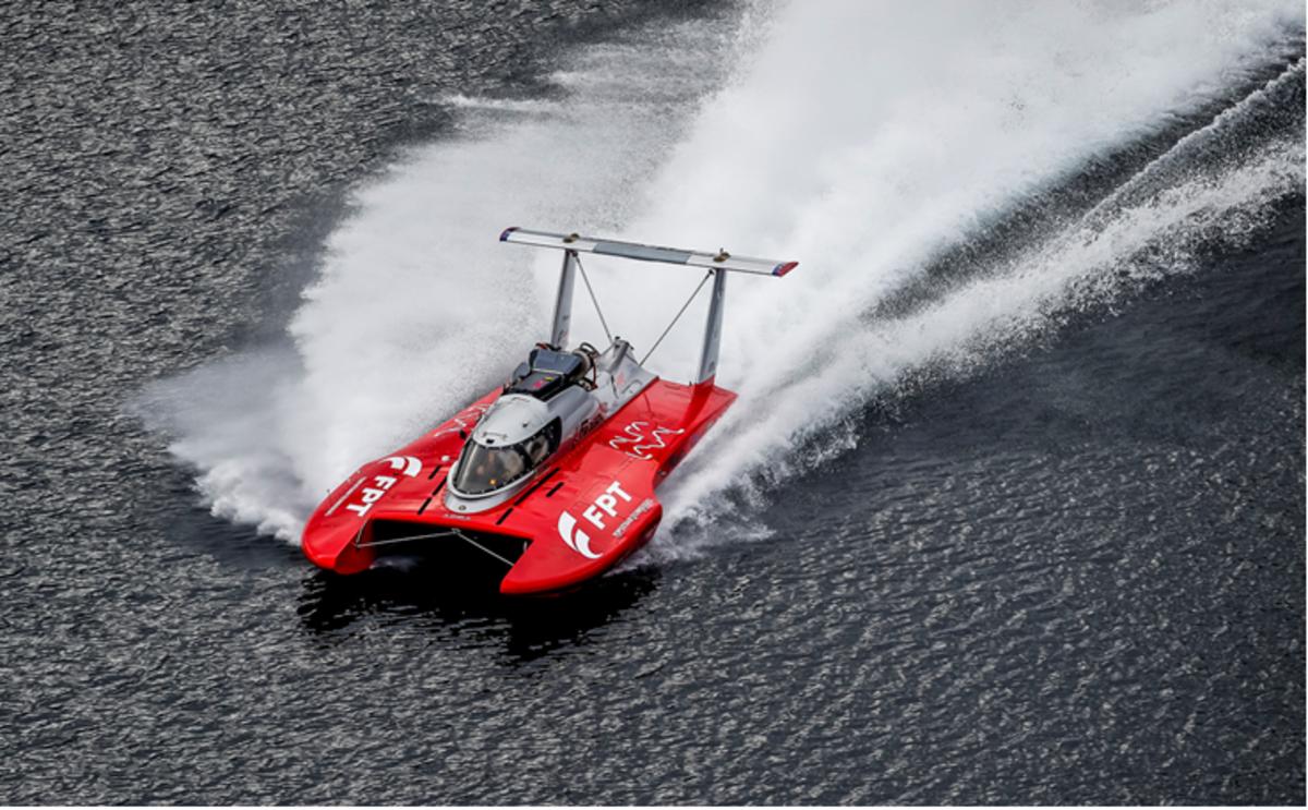 0c3a816f59 Il nuovo motoscafo Fb Design batte il record mondiale di velocità sul  chilometro: 277, 5 km/h - News - Automoto.it