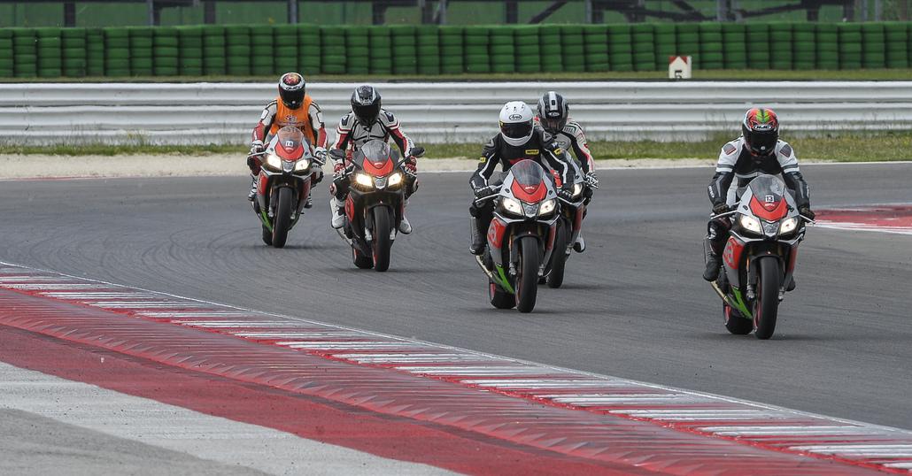 Aprilia Racers Day: demo ride e Academy sulle piste più belle d'Italia