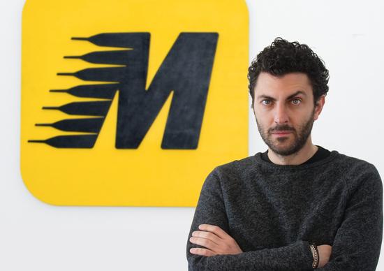 Moreno Pisto Brand & Content Manager e Cinzia Giacumbo Head of Design di Automoto.it e Moto.it