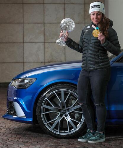 Audi, una RS 6 per Sofia Goggia (3)