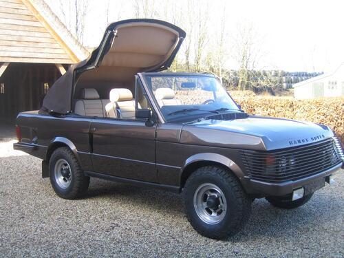 Una Range Rover Cabrio? C'era già nel '73. L'aveva il Re di Spagna (2)