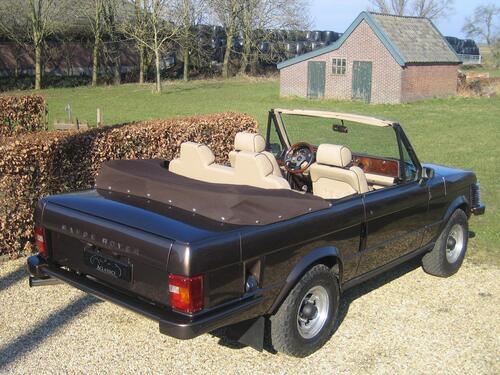 Una Range Rover Cabrio? C'era già nel '73. L'aveva il Re di Spagna (5)