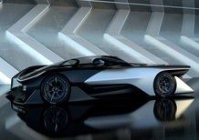 Faraday Future FFZERO1, 1.000 CV per la supercar EV a guida autonoma