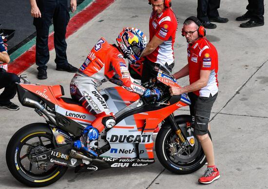 MotoGP 2018. Ducati: giornata disastrosa. Lorenzo: dichiarazioni fuori luogo