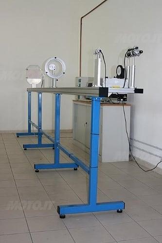 Apparecchiatura per controllo visiere (Laboratori Vemar Helmets)