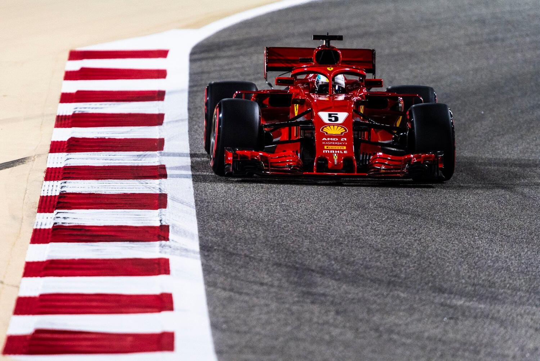 F1, GP Bahrain 2018: vince Vettel