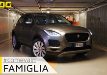 Jaguar E-Pace, Come va in... Famiglia [Video]