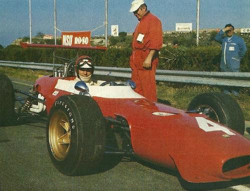 Gran Premio di Roma, Storia: 50 anni fa la vittoria ferrarista di Tino Brambilla con la Dino F2 (4)