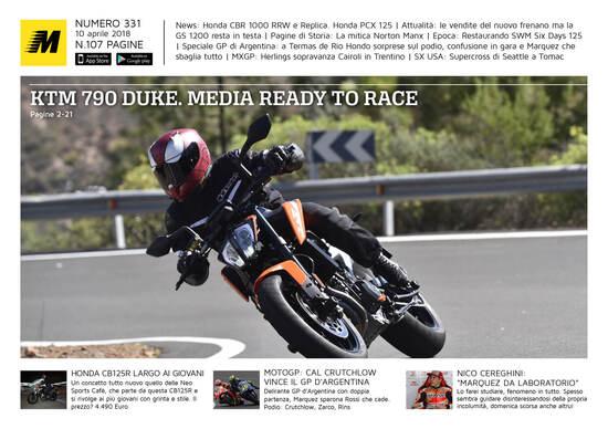 Magazine n° 331, scarica e leggi il meglio di Moto.it