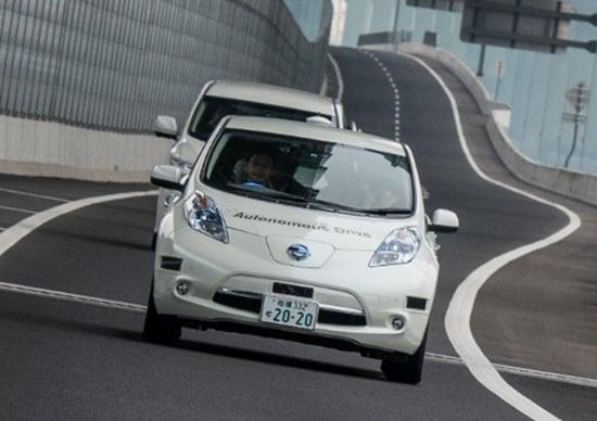 Renault-Nissan: 10 veicoli a guida autonoma entro il 2020