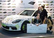"Porsche e NABA premiano i vincitori del workshop ""Green Future"" [Video]"