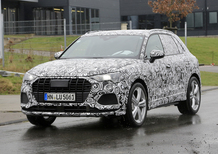 Nuova Audi SQ3, si intravede il nuovo modello del compact SUV