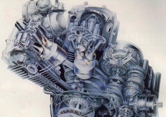 I motori a tre valvole per cilindro