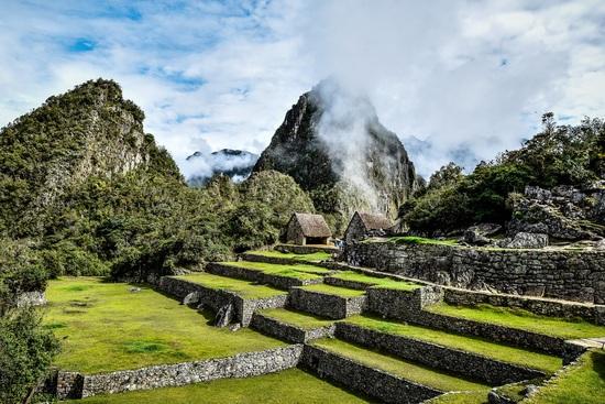 Altra veduta del villaggio inca di Machu Picchu