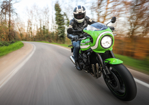 Kawasaki Z900RS CAFE. Café Racer Doc. Test