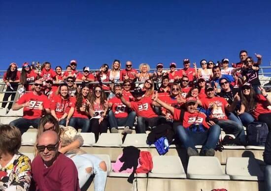 Il Fan club Marquez salta il Mugello. Problemi di sicurezza e incolumità