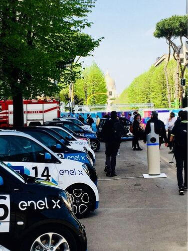 Dalle bighe alla Formula E: il cortocircuito di Roma (5)