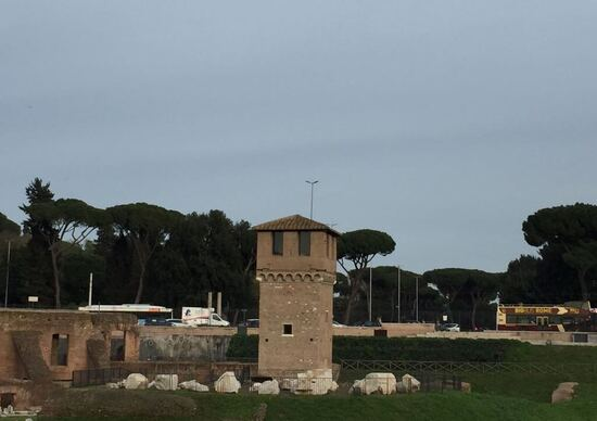 Da qui Diocleziano guardava le gare di bighe