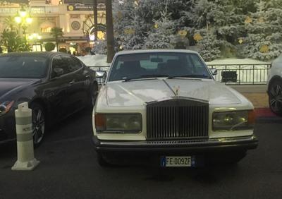 Silver spirit d'epoca del 1998 a Sanremo