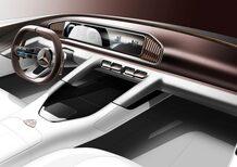 Mercedes-Maybach Ultimate Luxury, il teaser in attesa di Pechino