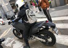 Foto spia: Yamaha Ténéré 700 beccata a Milano