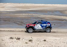 Qatar Cross-Country Rally. Al Attiyah fuori a 100km dal traguardo, vince Przygonski (Mini)!