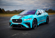 Jaguar I-Pace eTrophy, debutto a Berlino