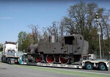 Monza, Autodromo senza treno: la locomotiva storica se ne va [Video]